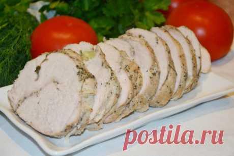 Буженина из индейки в духовке в фольге рецепт с фото пошагово - 1000.menu