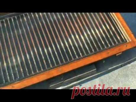 Солнечный водонагреватель своими руками. - YouTube