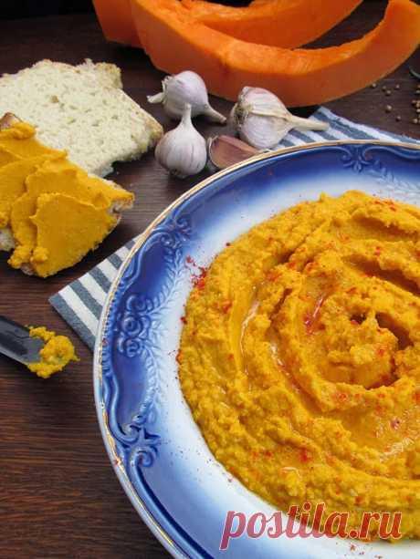 Постигая искусство кулинарии... : Тыквенный хумус