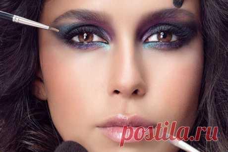 Вечерний макияж - пошаговые уроки (70 фото)