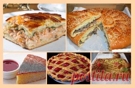 9 рецептов ВКУСНЕЙШИХ пирогов