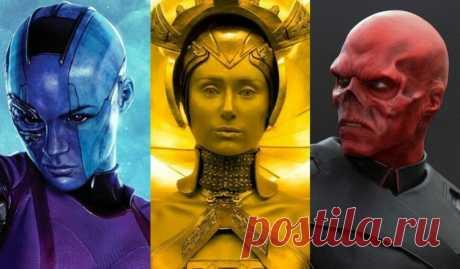 10 самых неузнаваемых трансформаций актеров в фильмах Marvel   Не многие способны превзойти кинематографическую вселенную Marvel. Мир комиксов — это сказочная страна для визажистов и дизайнеров костюмов, не говоря уже о самих актерах. Они действительно становятся нашими героями. Посмотрите на самые радикальные изменения костюма в фильмах Марвел.