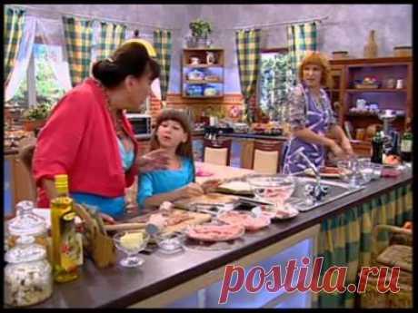 Рецепты мясных рулетов - Сваты у плиты - Интер - YouTube — Яндекс.Видео