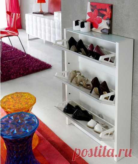 Стильные и практичные обувницы в прихожую | Роскошь и уют