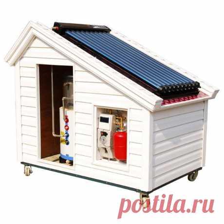 Бесплатное отопление частного дома солнечной энергией вполне реально! Развиваем мысль, приводим примеры таких систем отопления.