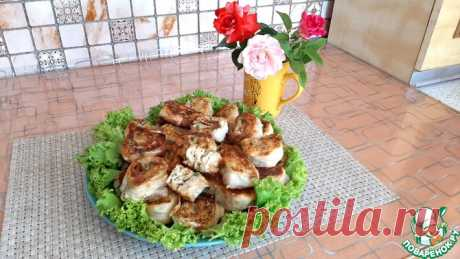 Рулетики из лаваша с сыром Кулинарный рецепт