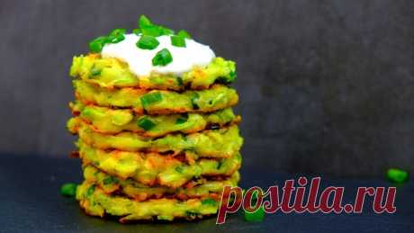 Самый удачный, простой и вкусный рецепт оладьев из кабачков — Кулинарная книга - рецепты с фото