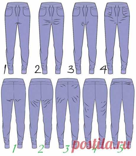 [Шитье] Дефекты посадки брюк. Мастер-классы