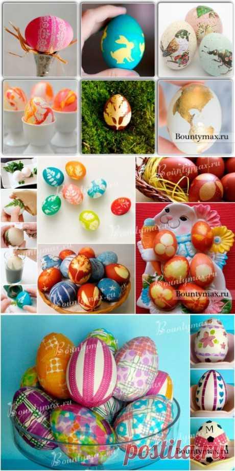 Яйца на пасху: как красиво покрасить или украсить яйца на пасху