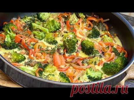 Вы будете готовить этот восхитительный рецепт брокколи снова и снова. Вкусно и легко