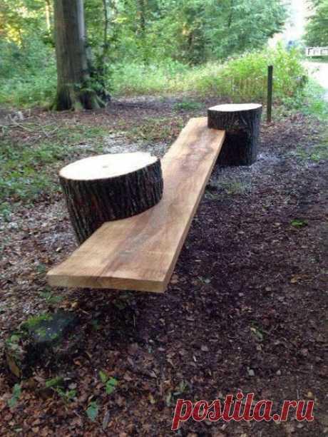 Nog een oude boomstam liggen bestemd is voor de haard of vuurkorf? Niet meer na deze 15 fantastische ideetjes! - Zelfmaak ideetjes