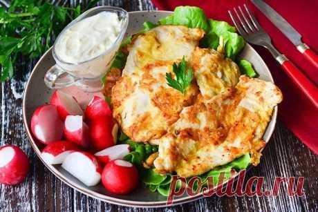 Отбивные из куриного филе - 15 самых вкусных рецептов на сковороде и в духовке.