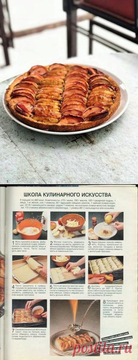 Пирог, опаленный пламенем, из журнала Бурда Моден за 1987 год. ГОТОВИМ БЕЗ ХНЫКОВ