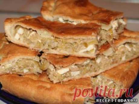 Рецепт: Пироги с капустой и яйцом