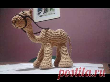 Вязаная крючком кроватка: CAMEL