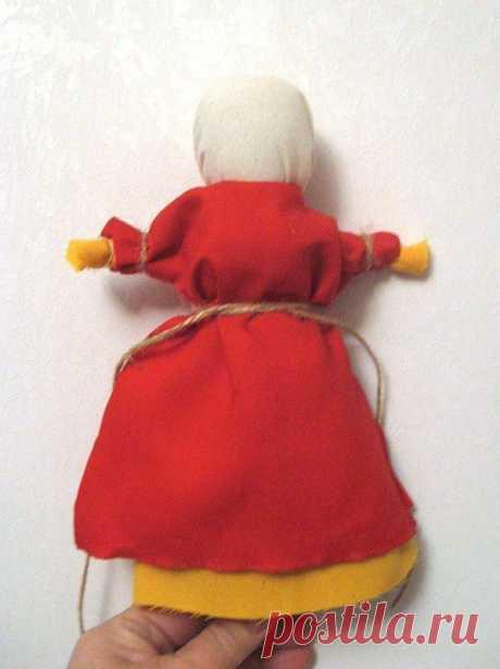 Русская народная лыковая кукла, исполняющая желания — Сделай сам, идеи для творчества - DIY Ideas