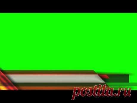 Free News etc Lower Third Green Screen Mega Compilation