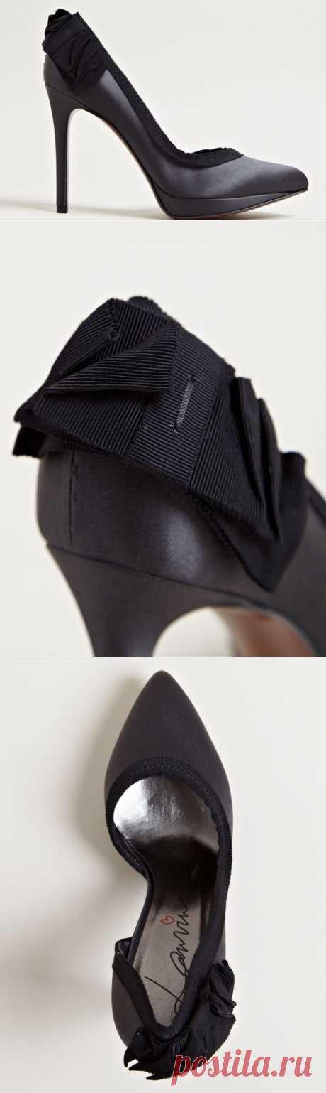 Декор туфель Lanvin / Обувь / Модный сайт о стильной переделке одежды и интерьера