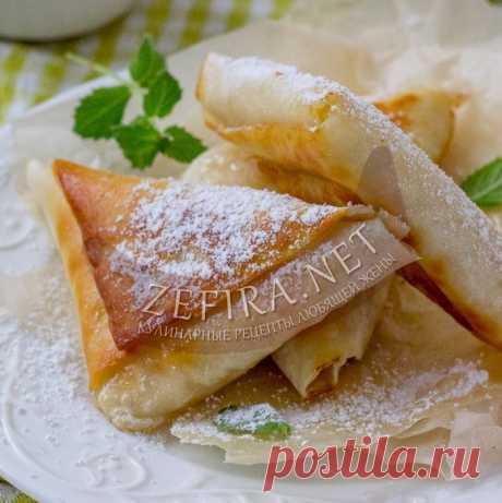 Ленивые пирожки с яблоками на сковороде — Кулинарные рецепты любящей жены