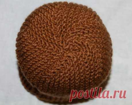 Платочная вязка на двух спицах и на круговых для начинающих обычная и двойная: схема, описание, секреты. Как связать спицами платочной вязкой модную женскую шапку?
