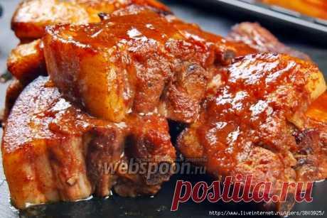 Свиные РЁБРА, аджика, сок,чайная заварка! Вы больше не захотите есть другое мясо!