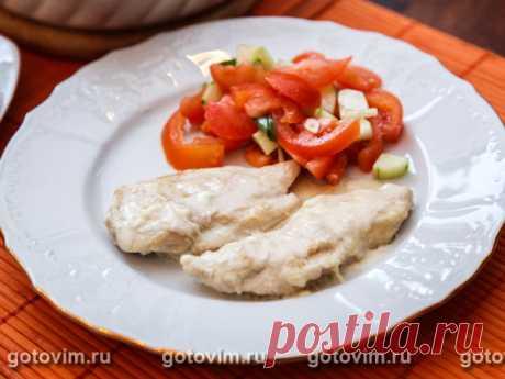 Курица в соусе Сен-Марселлен. Рецепт с фото Сыр Сен-Марселлен (Saint-Marcellin) - мягкий французский с белой плесневой корочкой.