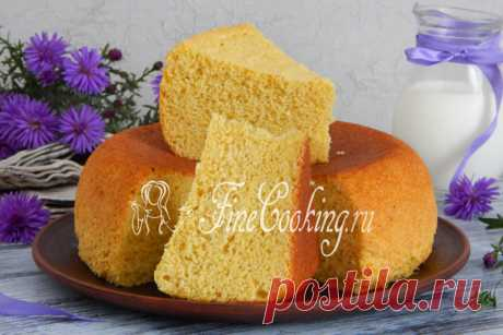 Corn biscuit the New recipe of a biscuit in the crock-pot: we train him on cornmeal, and without addition of uniform gram wheat - the pastries will turn out bezglyutenovy.