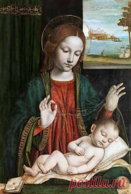 Итальянский художник Амброджо Бергоньоне, настоящее имя — Амброджо да Фоссано (1453-1523).