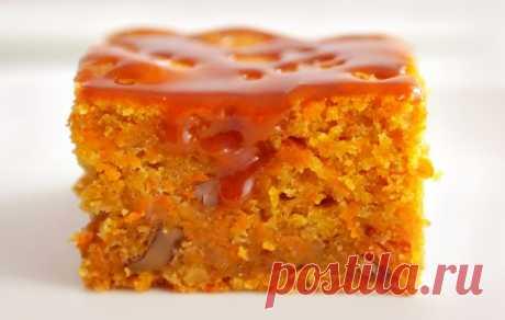 Морковный пирог - влажный, вкусный, ароматный | Рецепты на SuperKuhen.ru
