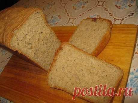 Хлеб ржано-пшеничный - Простые рецепты Овкусе.ру