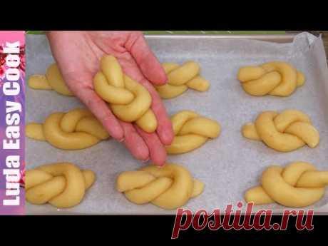 Итальянское лимонное печенье Вкусно Быстро Просто Тает во рту! печенье на детский праздник