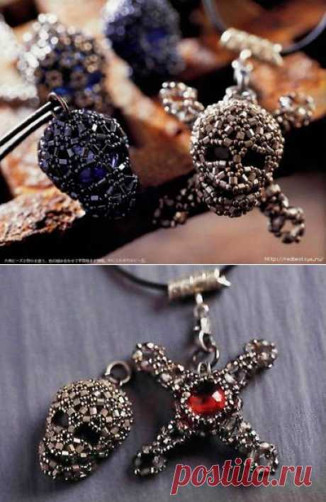 Gothic style from beads