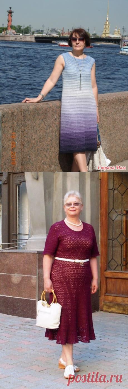 Помогите выбрать узор для платья - Вязание - Страна Мам