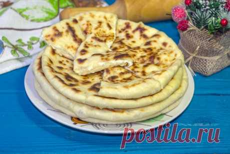 Хачапури на кефире на сковороде рецепт с фото пошагово и видео - 1000.menu