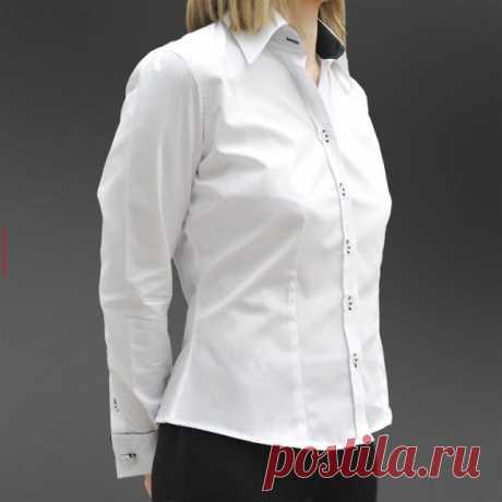 Выкройка женской блузки (классика)