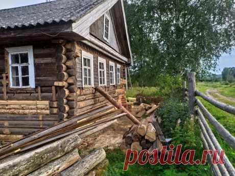 Как мы обшивали и утепляли старый и подгнивший деревенский дом | sevprostor | Яндекс Дзен