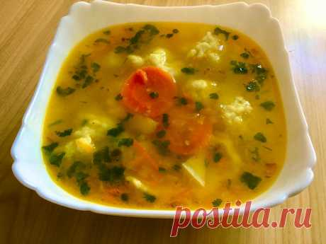 """Бабушкин суп"" который часто выручал в 90-е | Живите вкусно | Яндекс Дзен"
