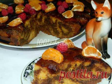 Тыквенный торт Рыжик с кофейной глазурью - Новогодние торты от 1001 ЕДА вкусные рецепты с фото!