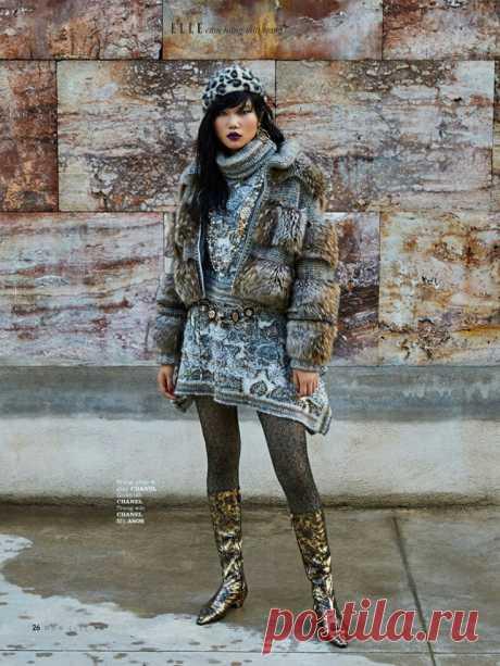 ELLE Vietnam  Декабрь 2018 Модная одежда и дизайн интерьера своими руками
