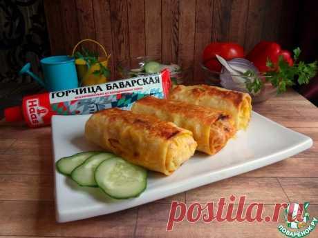 Горбуша, запеченная в лаваше Кулинарный рецепт