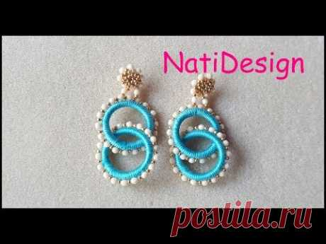 PENDIENTES DOBLE ARO- DOUBLE RING EARRINGS - YouTube
