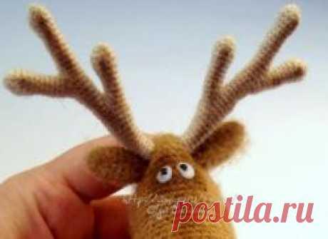 Мастер-класс олень Чик - МК по вязанию игрушек - Форум почитателей амигуруми (вязаной игрушки)