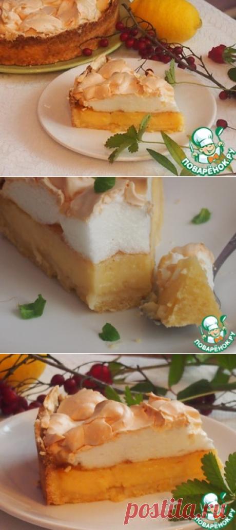 Лимонный пирог из Ментона - кулинарный рецепт