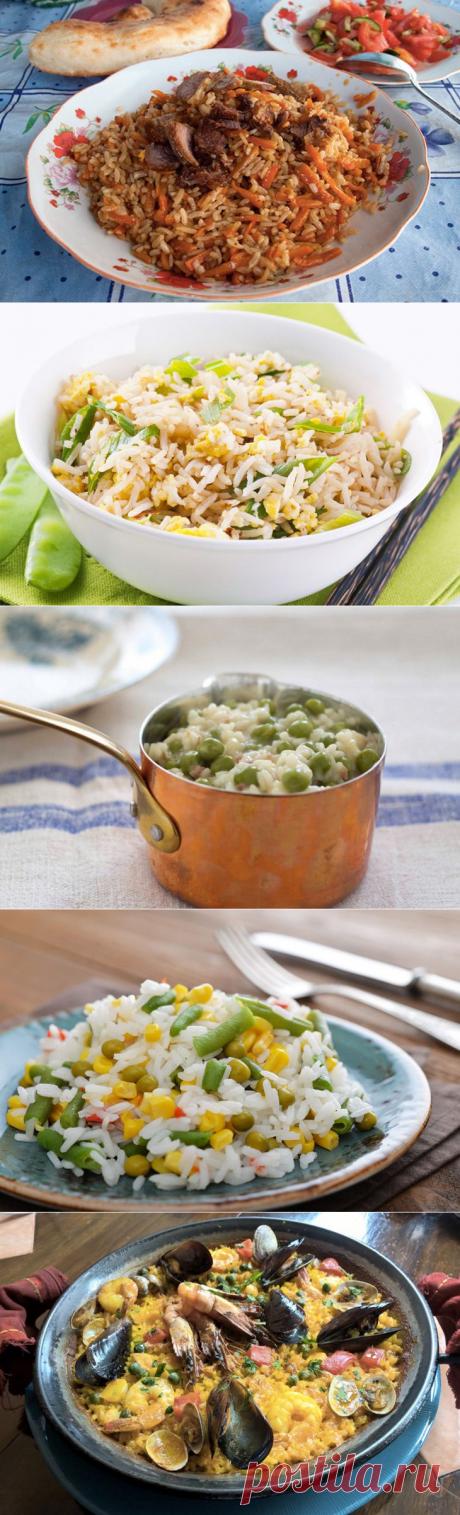 7 блюд из риса со всего света