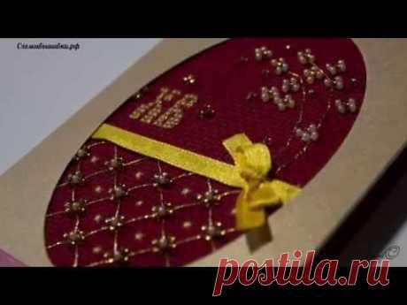 открытки к Пасхе //вышивка крестиком