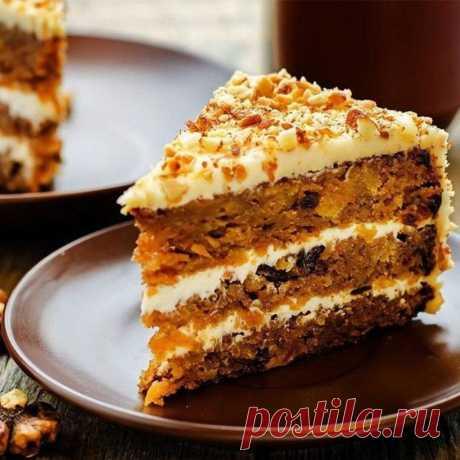 Морковный пирог с финиками | Самые вкусные кулинарные рецепты