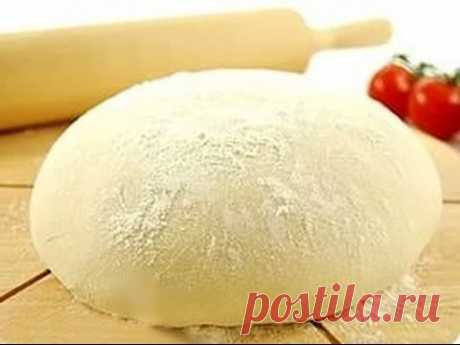 Yeast dough in 1 hour - Videoretsepta