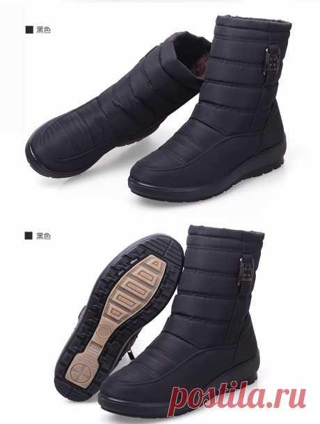 妈妈棉鞋_雪地鞋女保暖新款中老年人妈妈学生 一件代发 - 阿里巴巴