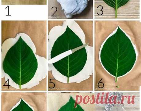 Интересные вазочки из листьев: мастер-класс – В Курсе Жизни