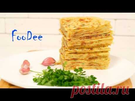 Хычины ☆ Обалденные лепешки на кефире с сыром и картошкой - YouTube
